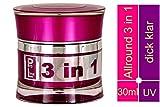 World of Nails-Design ProLine UV-Gel klar'3 in 1' dick viskose 30ml