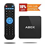 GooBangDoo Android 6.0 TV BOX mit AmlogicS905x Quad Core CPU, 1GB RAM+8GB ROM mit Wireless Fernbedienung und LAN Schnittstelle, 2.4GHz WIFI / 4K unterstützt
