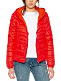 Only Damen-Stepp-Jacke onlTahoe AW Hooded Jacket 15136105, Farbe:Red Pepper, Größe:M
