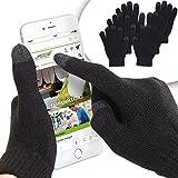 Oramics Warme Touchscreen-Handschuhe für Smartphones und Tablets, Schwarz, One size, 18791