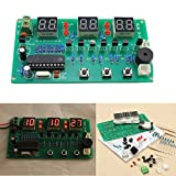 LaDicha 5V-12V At89C2051 Multifunktions Sechs Digitale Led Diy Elektronische Uhr Kit