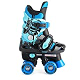 Osprey Kinder Electric Blue Osprey Quad Rollschuhe Kinder Verstellbare Roller Stiefel, Kinder, Electric Blue Osprey Quad Skates, blau