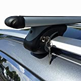 Aluminium Roof Rack Rails VDP confirm XL135 up to 75 kg Lockable VDPSC 005-135_TOURAN-R