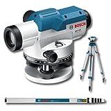 Bosch Linienlaser und Kreuzlinienlaser, GOL 32 D + BT160 + GR500