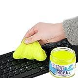 Tastatur Reinigungsmasse , Gestop Home & Office Reinigungsmasse für Ihren PC, Tastatur , Handy und andere Dinge des Alltags(160g im Pop-up Becher)