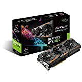 Asus ROG Strix GeForce GTX1070-8G Gaming Grafikkarte (Nvidia, PCIe 3.0, 8GB DDR5 Speicher, HDMI, DVI, DisplayPort)