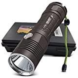 HIILIGHT LED Taschenlampe 3000 Pro - Taktische Outdoor XM-L2 Flashlight Mit Akku Set