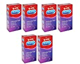 Durex Intimate Feel Kondome,, Elite, 6 Packungen x 12 Stück (72 Kondome)