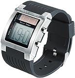 ST. Leonhard nc7069–944–Armbanduhr Herren, Armband aus Kunststoff Farbe schwarz