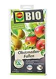 COMPO BIO Obstmaden-Fallen, Insektizid-freie Pheromonfalle mit Lockstoff, gegen den den Apfelwickler und dessen Maden, 2 Stück