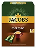 Jacobs Espresso Sticks 25 Portionen / Packung, 4er Pack (4 x 45 g)