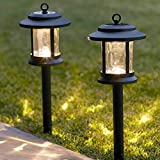 6er Set Solar Laternen Stableuchten Garten Tischleuchte Lights4fun