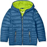 CMP Jungen Isolationsjacke Jacke, Denim/Lime Green, 128