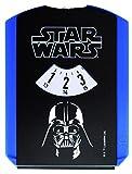 Star Wars STINN600 Parkscheibe Doppelseitig, Spaßmotiv, Blau