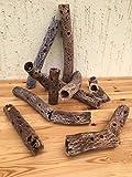 Dekorative TeddyBear Kaktus Röhre Höhle 5cm lang und ~6-7cm Ø (Cholla, Vuka) Zuschnitt nach Wunsch