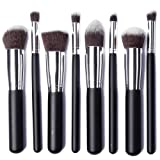XCSOURCE 8tlg Professionelles Make-Up Pinsel Set Lidschatten Rouge Stiftung Pinsel Puder Pinsel schwarz MT78