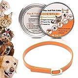 WOLFWILL Hochwertig Haustierfreundlich Zecken-Flohband Ungezieferhalsband für Hunde und Katze- 90 Tage anhaltende Wirkung