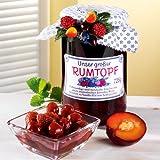 Großer Früchtetopf mit Jamaika Rum