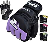 RDX MMA Handschuhe Kinder Kamfsport UFC Boxsack Sparring Training Grappling Gloves Junior Freefight Sandsack Maya Hide Leder Punchinghandschuhe
