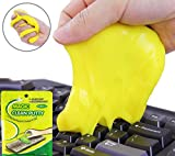Cenblue Magic High-Tech Staub Reinigung Compound Super Clean Slimy Gel Reiniger Wischer für Tastaturen Tabletten Computer Taschenrechner (3 Stück enthalten)
