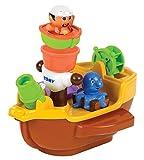 TOMY Spielzeug Schiff 'Piratenschiff' mehrfarbig - hochwertiges Kleinkindspielzeug - Piratenschiff Spielzeug für die Badewanne - ab 18 Monate