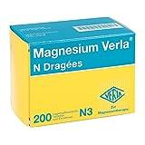 Magnesium Verla N Dragees, 200 St.