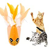 Katzenspielzeug Federspielzeug Elektrische Automatisch Drehendes Katzen Spielzeug Elektrische Rotierende Spielzeug für Katzen / Kitten Katz