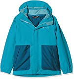 VAUDE Kinder Kids Campfire 3in1 Jacket Girls Doppeljacke, türkis (Alpine Lake), 158/164