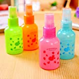 Möbel täglichen Bedarfs WWYXHQC Füllen Sie Wasser Spray flasche Auswurfkrümmer Einspritzung Zylinder leer cartoon Make-up Water Bottling portable Reisen Parfüm Flasche kleine leere Flaschen