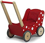 Simply For Kids 1171 Holzpuppenwagen, Rot