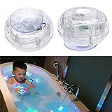 valink Schwimmende Colorful LED Nachtlicht, Baby Bad Toys Lichter, SPA Pond Pool Spa Whirlpool Wasserdicht Nacht Lampe, Unterwasser Beleuchtung