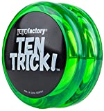 Yo-yo TenTrick by YoyoFactory - Grün (modern spinning yoyo, beginner friendly)