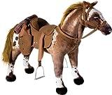 Heunec 723573 - Cowboy Pferd mit Sound 100 KG Tragkraft