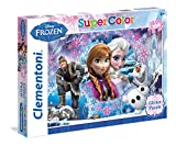 Clementoni 27248.8 - 104 T Glitter Frozen Queen of the North Mountain, Klassische Puzzle