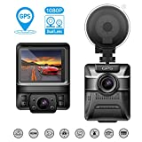 Beawelle Dash Kamera ,Auto DVR Kamera 1080P Car Recorder with GPS ,Infrarotfunktion, WDR,...