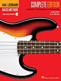 Hal Leonard Bass Method: Complete Edition -Second Edition- (Book & 3 CDs): Noten, Lehrmaterial, Bundle, CD für Bass-Gitarre