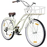Beachcruiser Viking CRUISY Lady 26 Zoll Cruiser Fahrrad