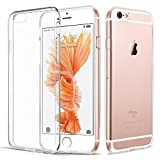iPhone 6 Plus 6S Plus Hülle, Vkaiy iPhone 6S Plus 6 Plus Schutzhülle, Transparent Ultra Dünn Handyhülle - Soft Silikon Crystal Durchsichtig TPU Bumper Backcover Case für iPhone 6/6S Plus (5,5')