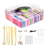 Polymer Clay weichen Ton/Knetmasse/Plastilin Ofen backen Lehm Crafts Moulding Set Handwerk DIY...