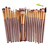 Hosaire 20 pcs/set Makeup Eyes Brush Professionelle Beauty Make Up Gesicht Pinsel Mode Foundation Berufsverfassungs Kosmetische Make-up Augen Bürste Set Augenpinsel