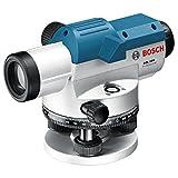 Bosch Professional Optisches Nivelliergerät GOL 32 D (Linsenschutz, Koffer, Maßeinheit: 260 Grad, Arbeitsbereich: 120 m, Vergrößerung: 32 x, Nivelliergenauigkeit: 1 mm auf 30 m)