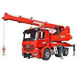 Bruder 03670 - MB Arocs Kran-LKW mit Light and Sound Modul