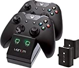 Venom Twin Docking Station für Xbox One - Ladestation für Xbox one Controller inklusive 2 Zusatz...