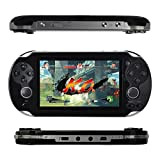 Kasit 1PC Handheld 4.3inch 8GB Video Game Console Free 100+ Games MP4 MP5 Players With Dual Joystick...