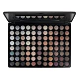 Blush Professional 88 Colour Earth Tones Eyeshadow Palette/Lidschatten palette
