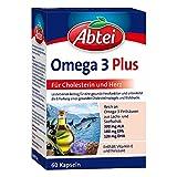 ABTEI Omega 3 6 9 Lachsöl+Leinöl+Oliv.Öl Kapseln 60 St Kapseln