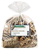 Korkstücke | Korkrinde (Bruchstücke der Rinde der Korkeiche) 500g-Beutel. Für Haustiere (Nager, Vögel, Terrarium), Hobby und Basteln (Modellbau) oder Deko (Dekoration Blumen, Gestecken, Floristik)
