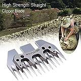 Ridgeyard Stärke Straight Clipper Blade Ersatz für Schafe Alpaka Ziegen Farm Shears