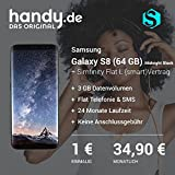 Samsung Galaxy S8 Midnight Black mit Simfinity Flat L (smart) 3 GB Vertrag