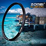 Zomei Ultra Slim CPL Filter AGC Glass Optische Pro Fotografie Filter Polarisationsfilter für Sony Canon Nikon Pentax Kamera
